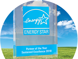 2018 Energy Star Partner of the Year Logo
